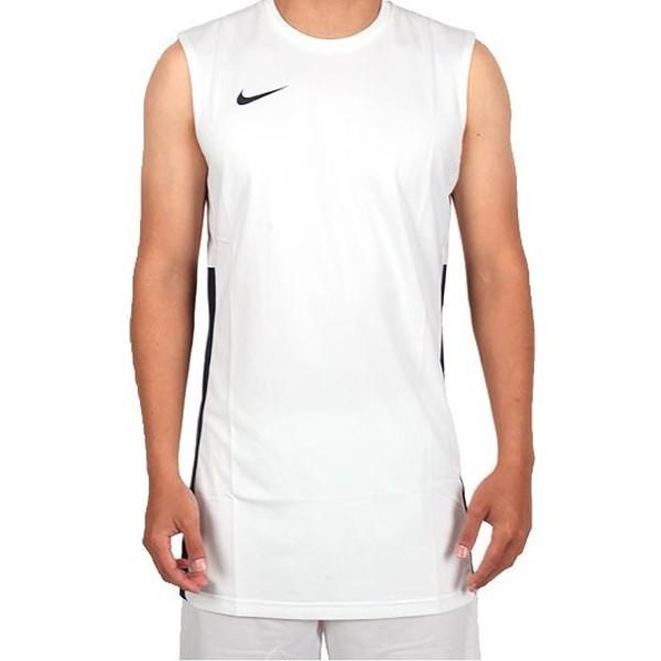 NIKE AS AP GEN GAME JSY 男裝 籃球衣 背心 單面 排汗 白 【運動世界】839436-101