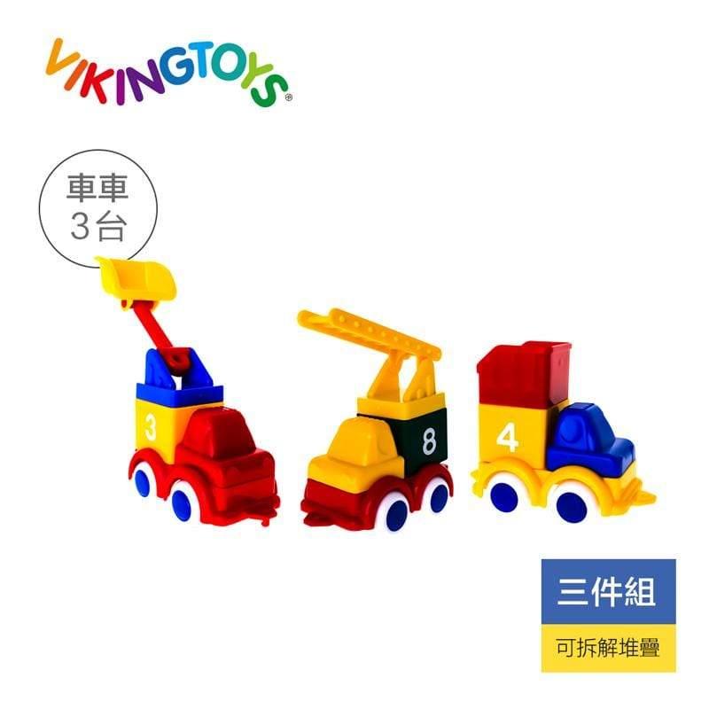 積木工程車隊-三件組 81623