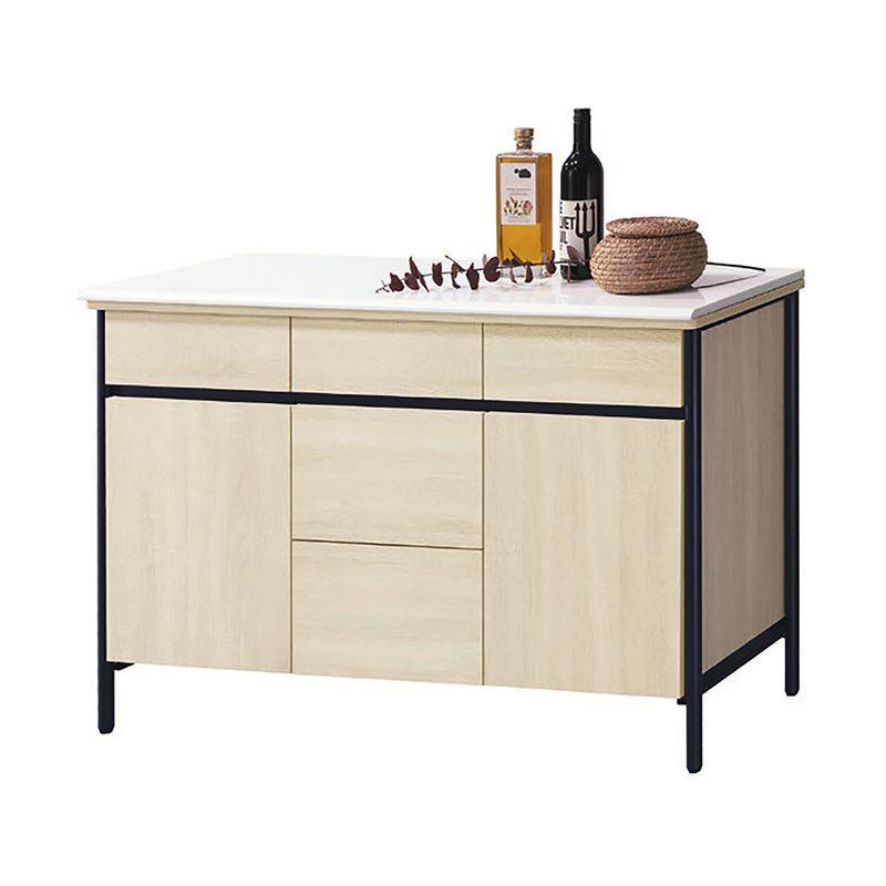 【RA836-3】韋克4尺餐櫃(含石面)