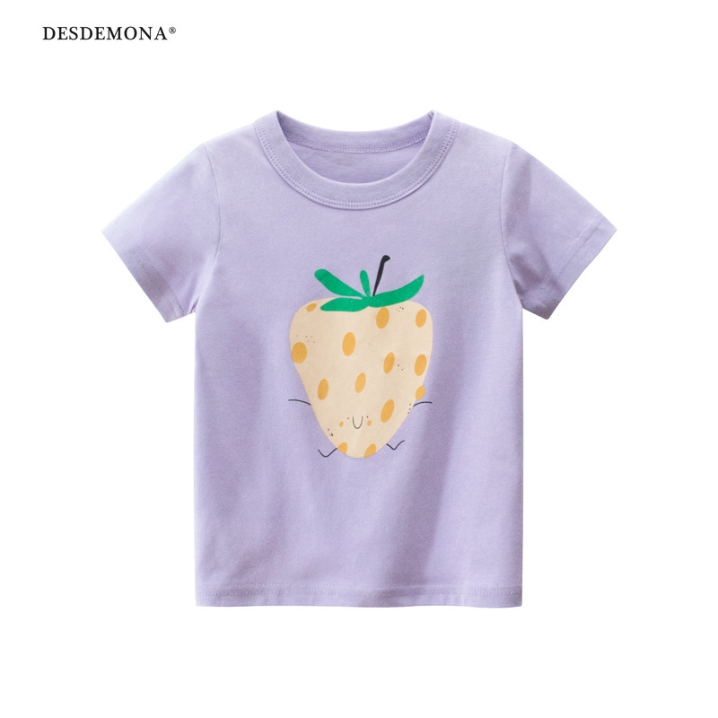 童裝夏季新款2020 女童短袖t恤衫批發兒童服裝