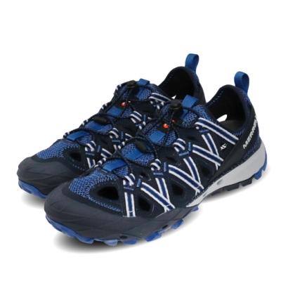 Merrell 兩用鞋 Choprock Shandal 男鞋 水陸兩棲 快速扣 好穿脫 耐磨 黃金大底 藍 灰 ML033541