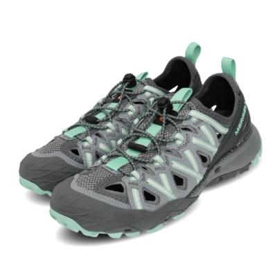 Merrell 兩用鞋 Choprock Shandal 女鞋 水陸兩棲 快速扣 好穿脫 耐磨 黃金大底 灰 綠 ML034170