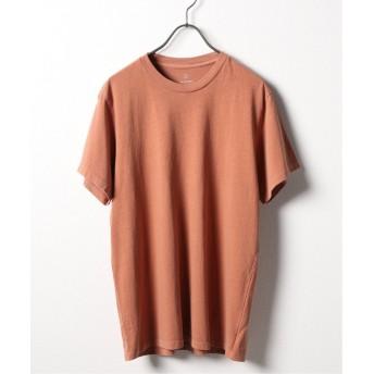 (SAVE KHAKI/セイブカーキ)SKU S/S BEACH CREW TEE/メンズ オレンジ