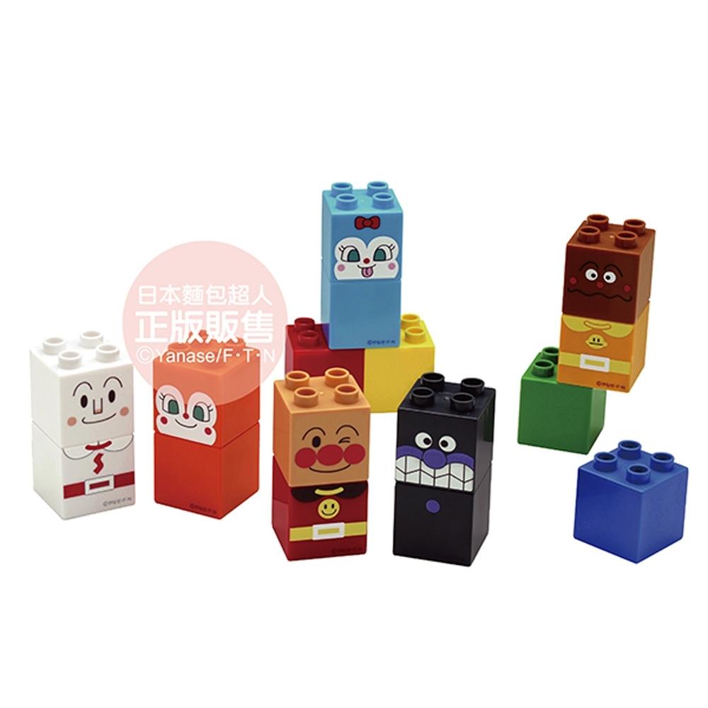 ANPANMAN 麵包超人 麵包超人與朋友們的積木樂趣盒