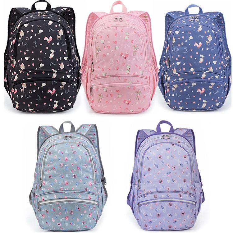 【STAR BABY】森林小鹿多用途學生書包 後背包(3-6年級適用)