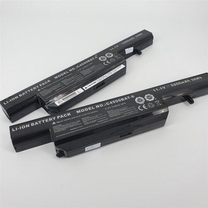 clevo 藍天 技嘉 c4500bat-6 原廠電池 c4500 vnb14 c4800