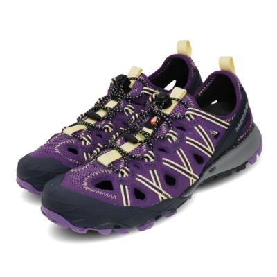 Merrell 兩用鞋 Choprock Shandal 女鞋 水陸兩棲 快速扣 好穿脫 耐磨 黃金大底 紫 黃 ML034174