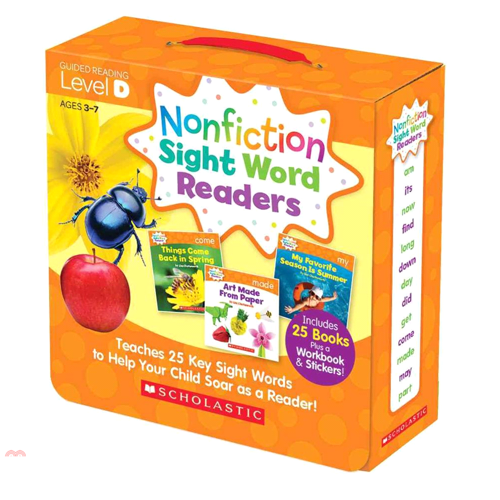 Nonfiction Sight Word Readers Level D (26書)【三民網路書店】[73折]