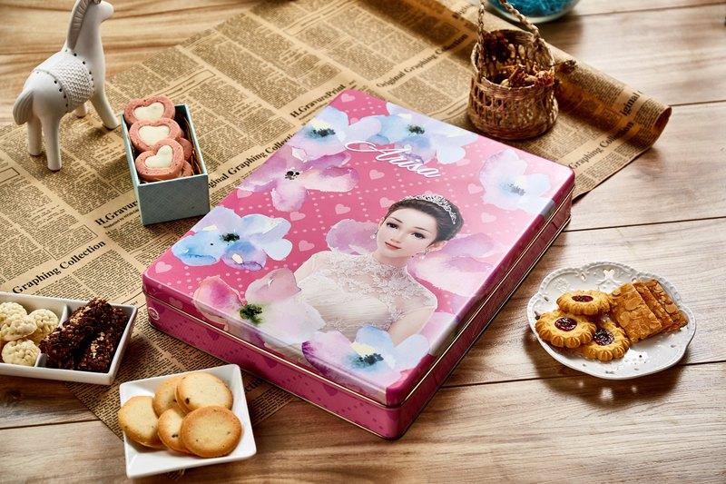 (團購組/台灣免運)亞里莎喜餅 #2號時尚禮盒(一組8盒)