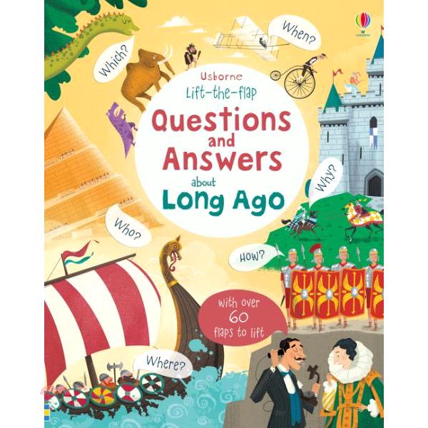 About Long Ago (硬頁翻翻書)【三民網路書店】(硬頁書)[75折]