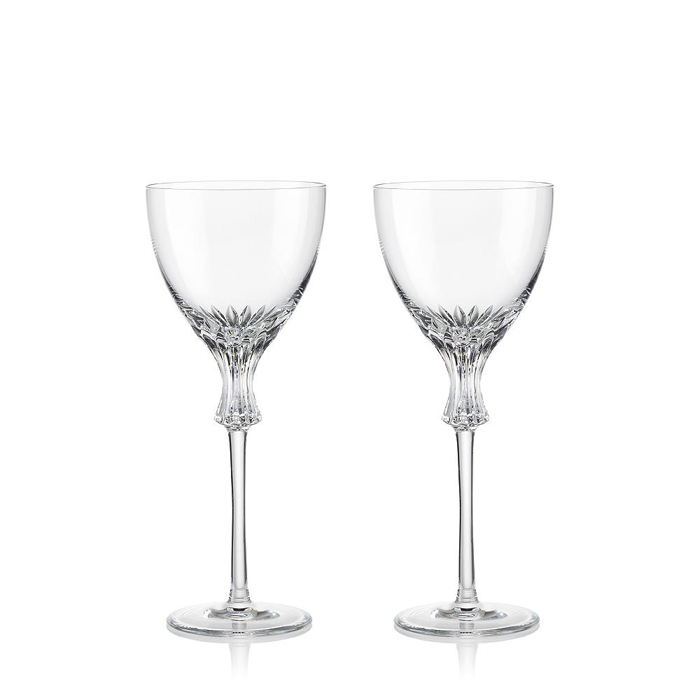 《ROGASKA》頂級歐洲歐米茄系列-水晶紅酒高腳杯-2入對杯(禮服水晶杯造型)