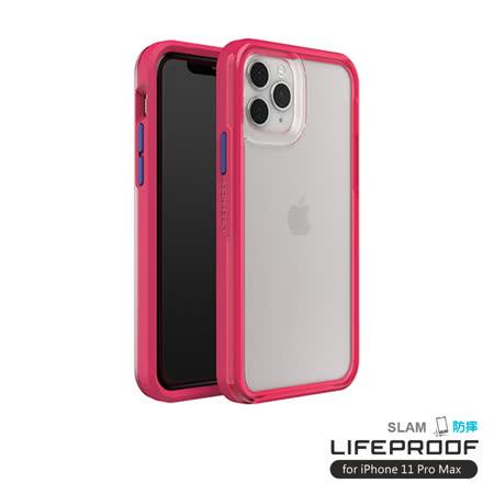 LIFEPROOF iPhone 11 Pro Max (6.5吋)專用 吸震抗衝擊輕量防摔手機殼-SLAM(透明/粉)