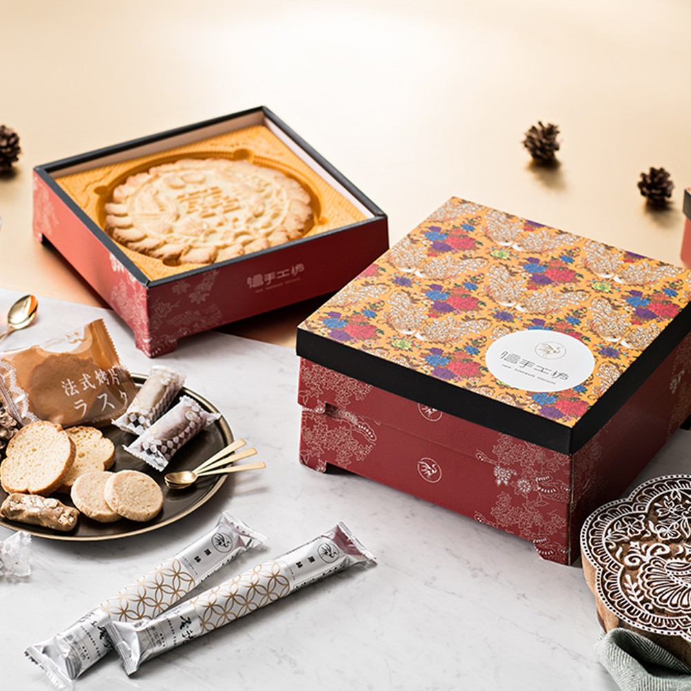 喜餅禮盒試吃 中西式喜餅、中式大餅、西式喜餅(僅限1盒)