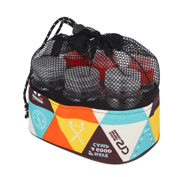輕量化-調味料瓶6件套(固體瓶x3+液體瓶x3)贈收納袋  / 野炊 調味瓶 調味罐 露營用品 料理工具