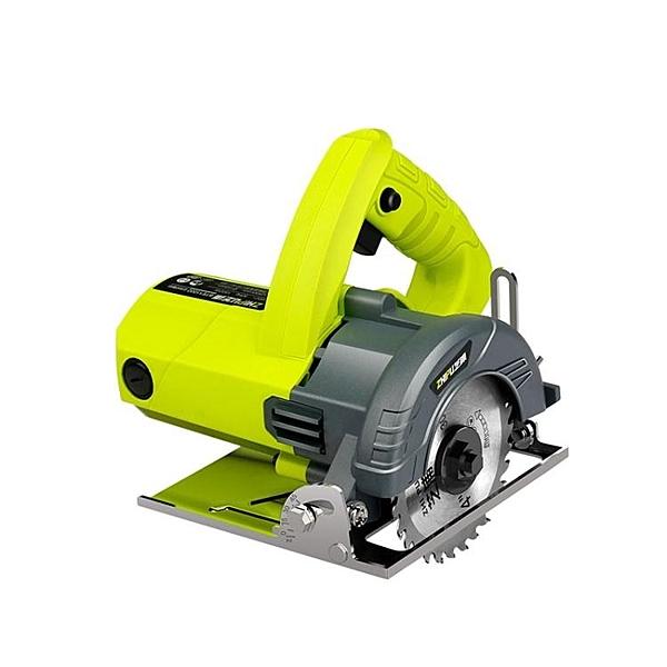 切割機芝浦切割機家用小型大功率多功能手提瓷磚石材金屬開槽云石機電鋸 叮噹百貨