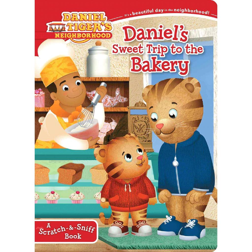 Daniel's Sweet Trip to the Bakery ─ A Scratch-【三民網路書店】