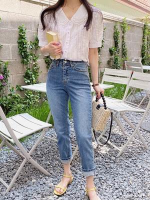 韓國空運 - Angel lace blouse 襯衫