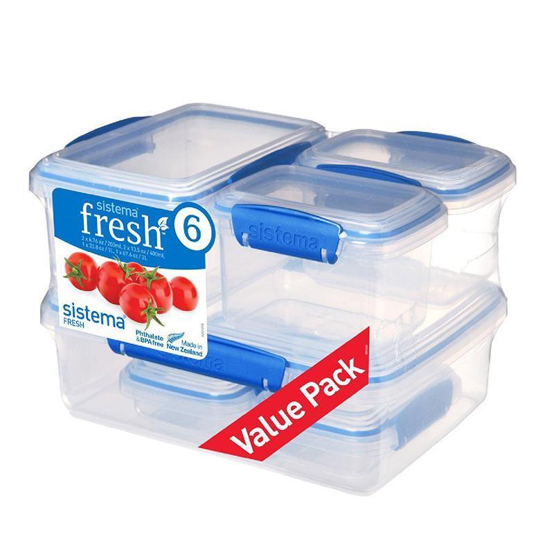 紐西蘭進口fresh系列保鮮盒六件組-921760