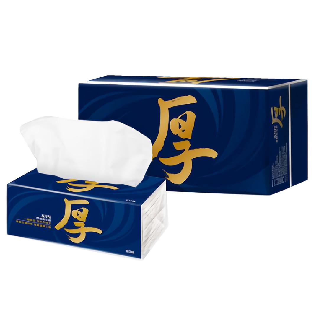 五月花 厚棒抽取式衛生紙90抽x60包 計1箱