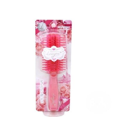 【信福璇律】日本製 VeSS 保濕排梳 玫瑰吹整梳(LJ-800) 梳子 保濕梳子