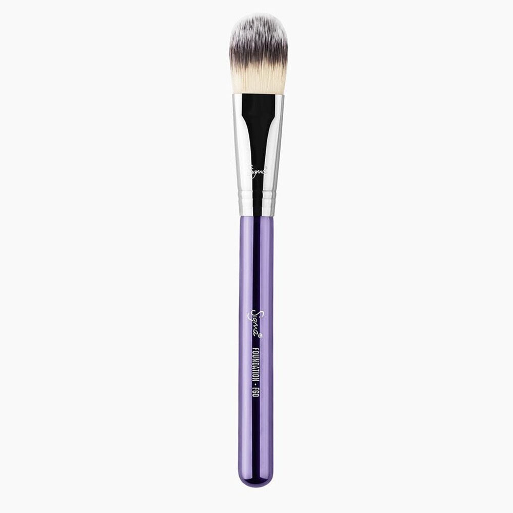 sigma f60 foundation brush(紫色)粉底刷 化妝刷 愛來客美國授權經銷商