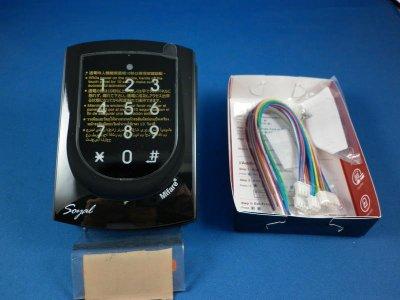 全新連線型SOYAL AR725(送電源)悠遊卡Mifare 13.56(MF)觸碰式讀卡機 刷卡機 門禁