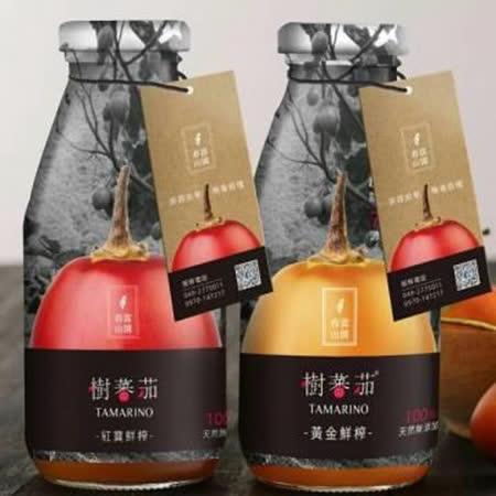 春霖山園 樹蕃茄纖果飲禮盒(6入)*2盒