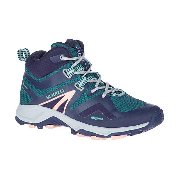 [Merrell] (女) MQM FLEX 2 MID GORE-TEX® 登山健行鞋 深藍/深綠 (ML033708)