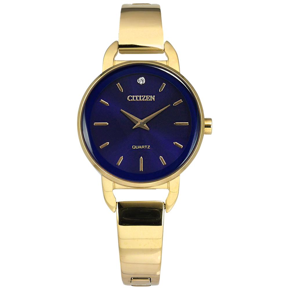 CITIZEN   EZ6373-58L 名媛手環晶鑽礦石強化玻璃日本機芯不銹鋼手錶