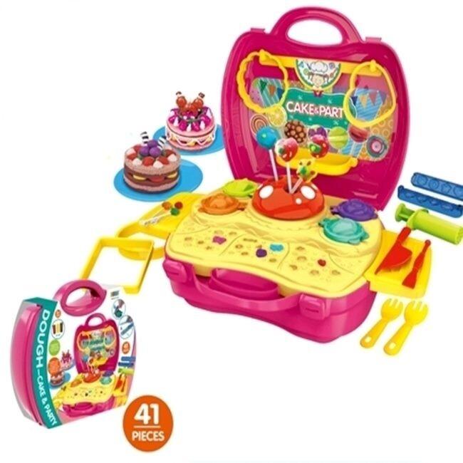 家家酒 糖果手提箱 糖果家家酒 手提箱玩具組 彩泥家家酒 黏土家家酒 黏土玩具 家家酒遊戲