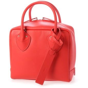 ディアナドット Dhyana. ボックスハンドバッグ (RED)