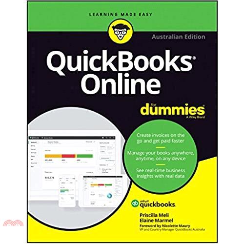Quickbooks Online for Dummies ─ Australian【三民網路書店】[79折]