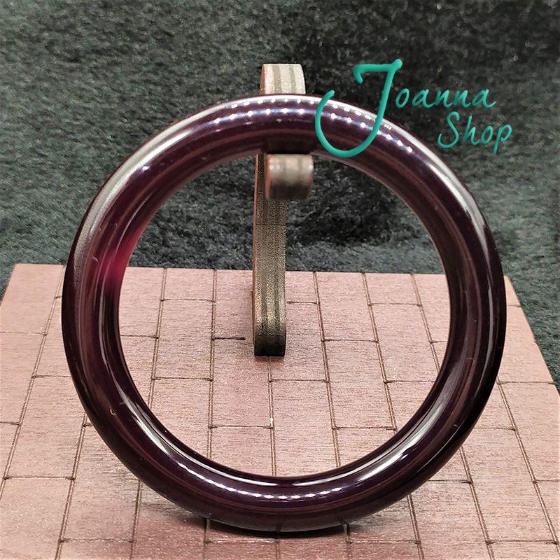 18圍天然冰種圓骨紅玉髓瑪瑙手鐲 (面寬1cm )-Joanna Shop-42