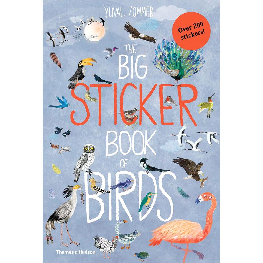 The Big Sticker Book of Birds【三民網路書店】[79折]