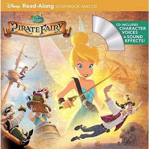 Tinker Bell and the Pirate Fairy (1平裝+1CD)【三民網路書店】(有聲書)[73折]