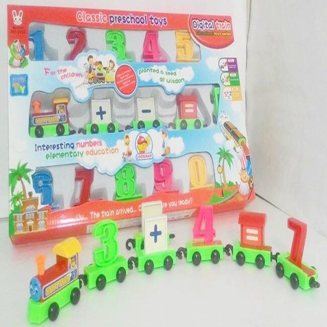 動手玩具 數字小火車 0-9列車 數字學習排列 火車玩具 幼教 益智玩具 數字 加減乘除
