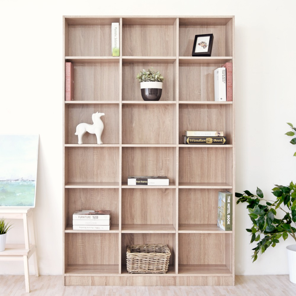 【預購-預計3/18出貨】HOPMA 都會十八格大空間書櫃/收納櫃 PC-G-175