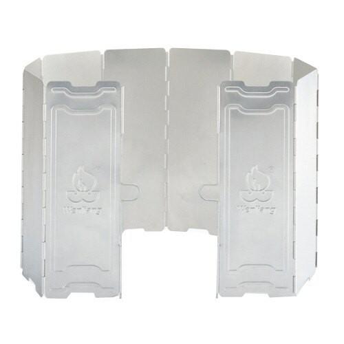 Wen Liang 文樑 鋁製10片擋風板(附收納盒) 擋風片 阻風片 適用攻頂爐 飛碟爐 登山爐 WL9703