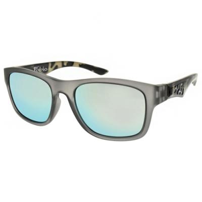 720運動眼鏡 多層鍍膜防爆PC片系列/霧透灰-湖白水銀水銀灰#720 B372 C29