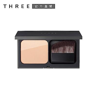 THREE 霧光立體粉餅12g