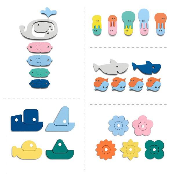 比利時 Quut 浴室拼貼玩具|洗澡玩具(5款可選)【麗兒采家】