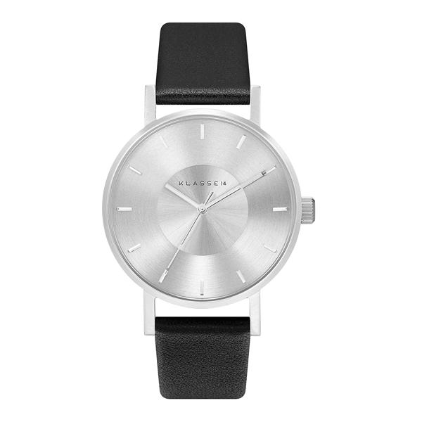 Klasse14 VO14SR001W 簡約三針時尚腕錶 黑/銀 36mm