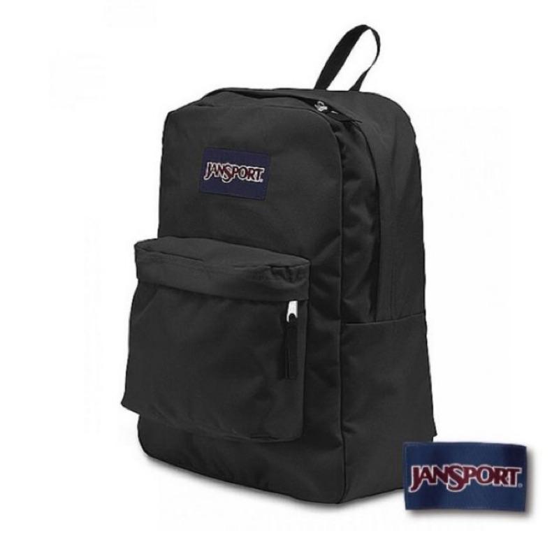 美國JANSPORT SUPERBREAK 系列後背包 - 黑/基本款校園後背包
