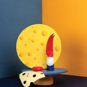 OTOTO|伯特-奶油起司刀
