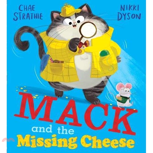 Mack and the Missing Cheese【三民網路書店】[79折]