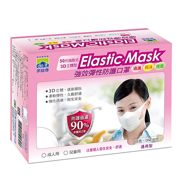 強效防塵口罩 50入/盒成人用(二盒ㄧ組)一般防塵用