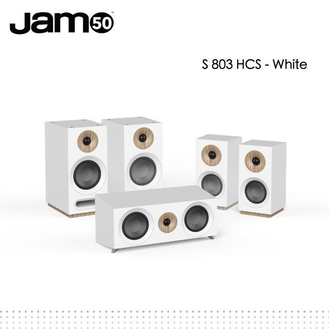 丹麥Jamo S 803 HCS家庭劇院組-white