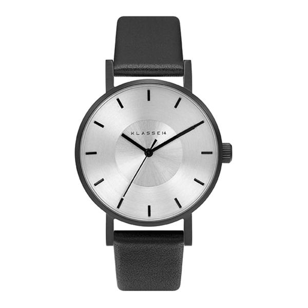 Klasse14 VO14BK001W 簡約三針時尚腕錶 黑/銀 36mm