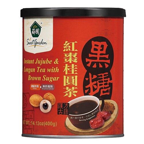 【薌園】黑糖紅棗桂圓茶(粉末)(400公克)