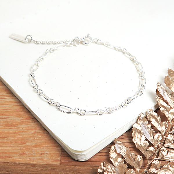 經典費加洛手鍊(2.5mm細鍊) 925純銀手鍊 ART64品牌經典手鍊